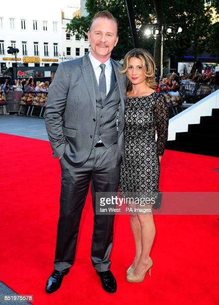 Morgan Spurlock arriving for the World Premiere of One Direction This Is Us at the Empire Leicester Square London