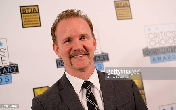 Morgan Spurlock attends Critics' Choice Documentary Awards at BRIC Arts Center on November 3 2016 in the Brooklyn borough of New York City