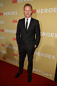 Morgan Spurlock attends the 2014 CNN Heroes An All Star Tribute at American Museum of Natural History on November 18 2014 in New York City...