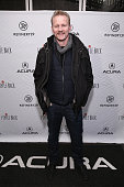Morgan Spurlock attends the 'I Smile Back ' after party at the Acura Studio with Refinery29 on January 25 2015 in Park City Utah