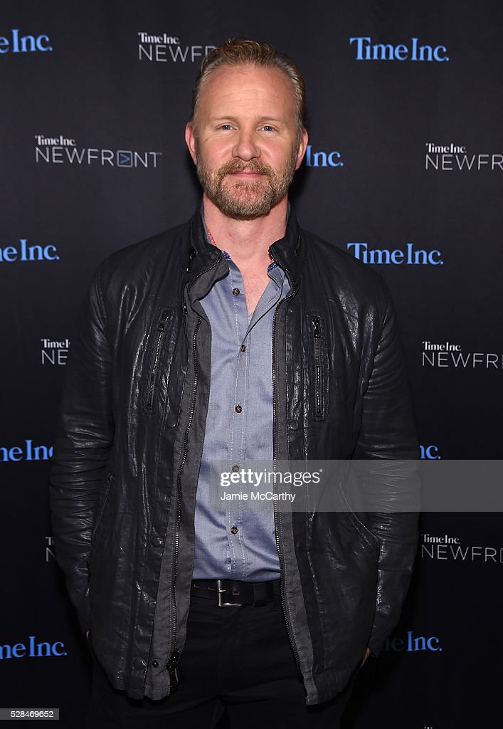 <a gi-track='captionPersonalityLinkClicked' href=/galleries/search?phrase=Morgan+Spurlock&family=editorial&specificpeople=212719 ng-click='$event.stopPropagation()'>Morgan Spurlock</a> attends the TimeInc. NEWFRONT at Gotham Hall on May 5, 2016 in New York City.