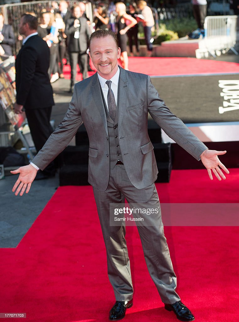 Morgan Spurlock attends the World Premiere of 'One Direction: This Is Us' at Empire Leicester Square on August 20, 2013 in London, England.