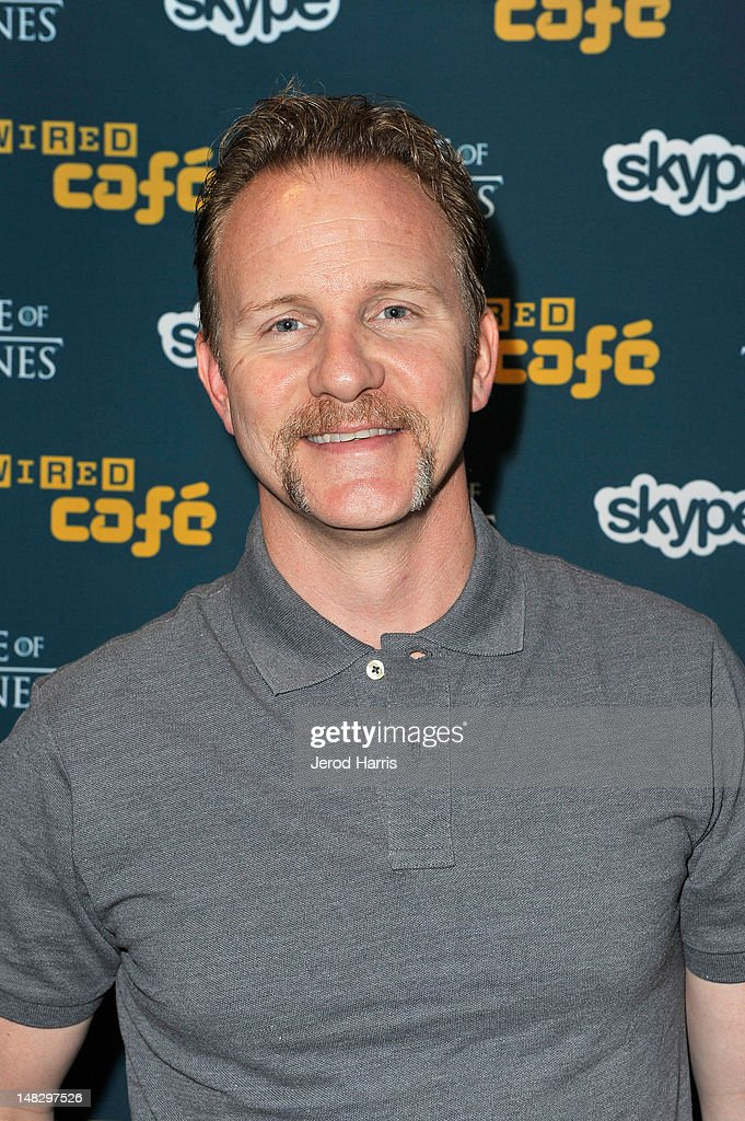 Morgan Spurlock attends WIRED Cafe At Comic-Con held at Palm Terrace at the Omni Hotel on July 13, 2012 in San Diego, California.