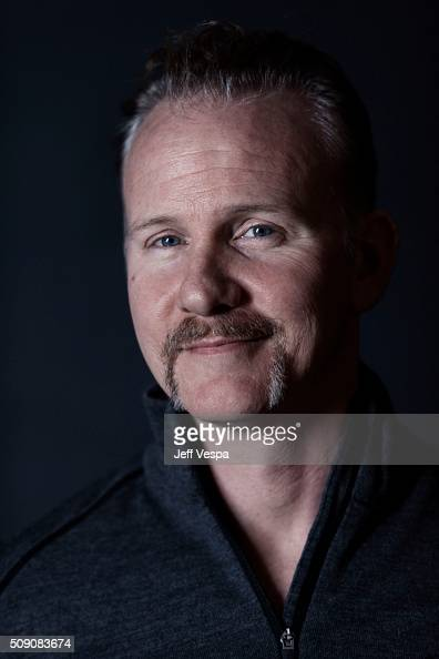 Morgan Spurlock of 'The Eagle Huntress' poses for a portrait at the 2016 Sundance Film Festival on January 22 2016 in Park City Utah