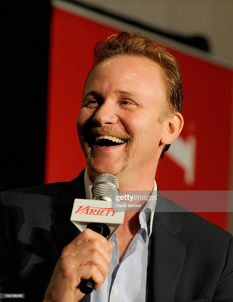 Morgan Spurlock, Writer, Director, Producer appears onstage during Variety Entertainment Summit at The 2013 International CES at Las Vegas Convention Center on January 10, 2013 in Las Vegas, Nevada.