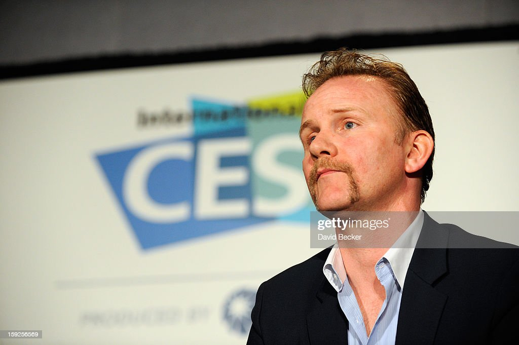<a gi-track='captionPersonalityLinkClicked' href=/galleries/search?phrase=Morgan+Spurlock&family=editorial&specificpeople=212719 ng-click='$event.stopPropagation()'>Morgan Spurlock</a>, Writer, Director, Producer appears onstage during Variety Entertainment Summit at The 2013 International CES at Las Vegas Convention Center on January 10, 2013 in Las Vegas, Nevada.