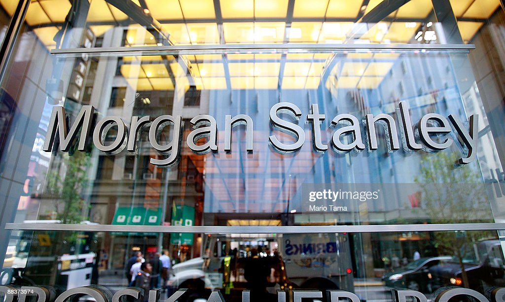 Morgan Stanley headquarters are seen June 9 2009 in New York City Morgan Stanley is one of ten lenders that won US Treasury approval to pay back $68...