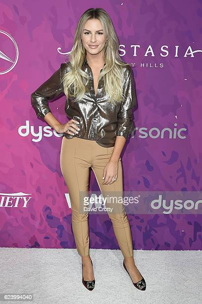 Morgan Stewart attends the Variety WWD Host Second Annual StyleMakers Awards Arrivals at Quixote Studios West Hollywood on November 17 2016 in West...