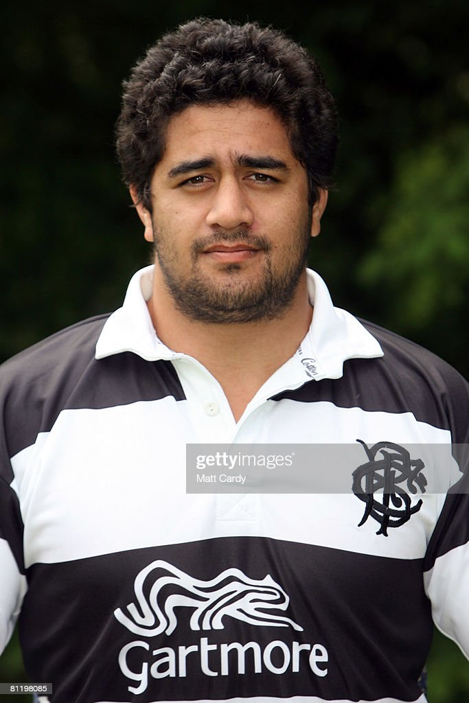 Morgan Turinui of the Barbarian Rugby Football Club Summer Tour Squad 2008 at the Hilton Metropole NEC on May 21 2008 in Birmingham England