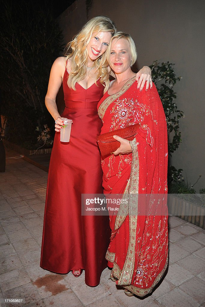 Morgan Witkin and Patricia Arquette attend Cash & Rocket On Tour Women for Women - Gala Dinner and Auction on June 16, 2013 in Rome, Italy.