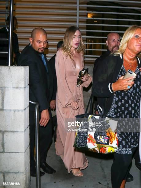Morgana McNelis is seen on April 05 2017 in Los Angeles California