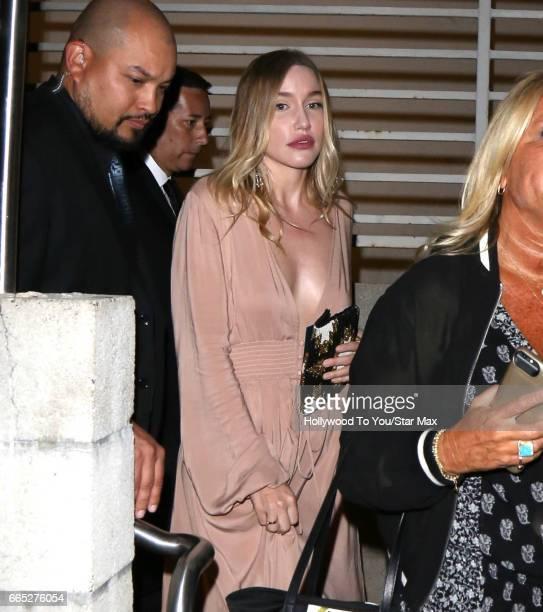 Morgana McNelis is seen on April 5 2017 in Los Angeles CA