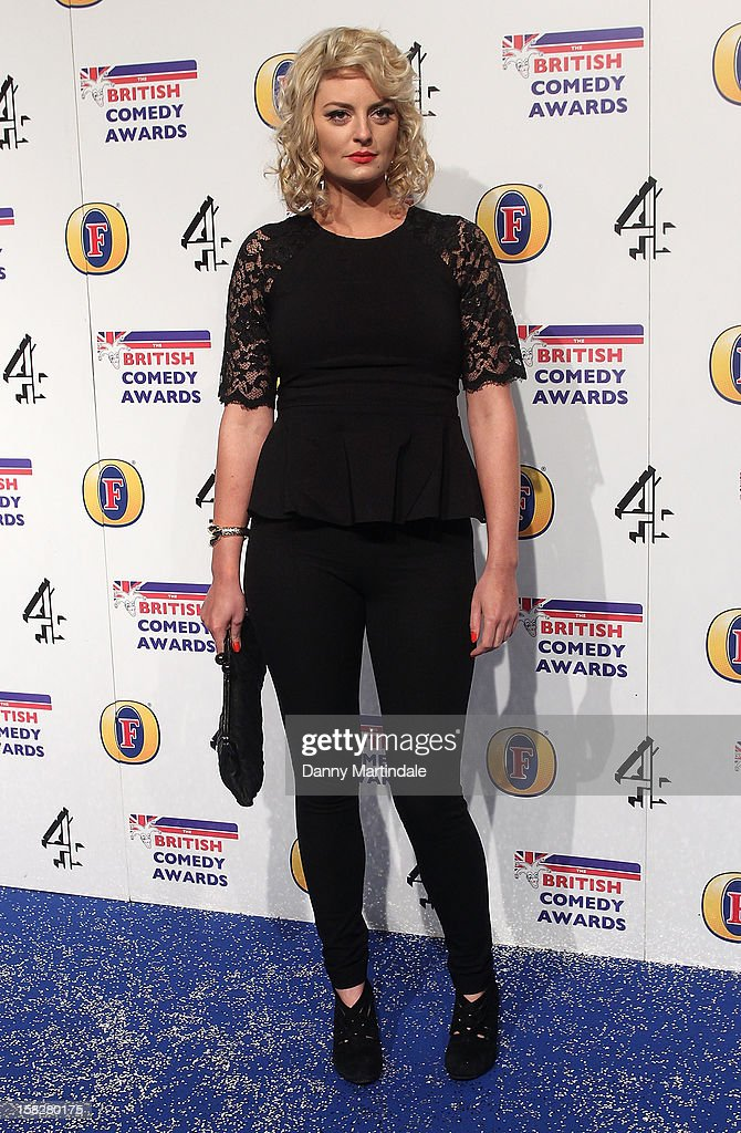 Morgana Robinson attends the British Comedy Awards at Fountain Studios on December 12, 2012 in London, England.