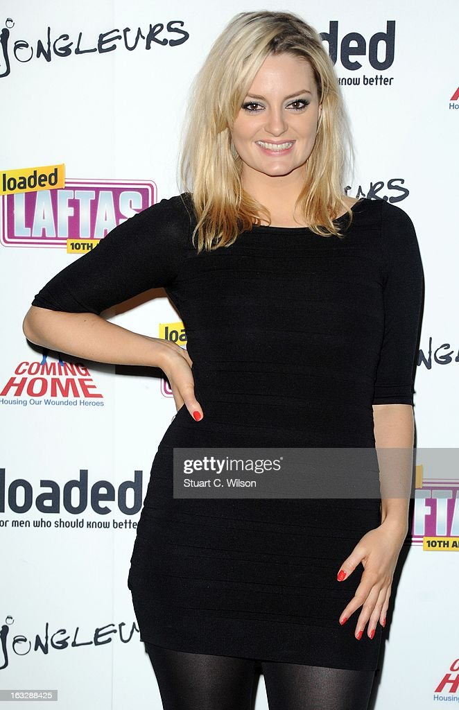 <a gi-track='captionPersonalityLinkClicked' href=/galleries/search?phrase=Morgana+Robinson&family=editorial&specificpeople=2970376 ng-click='$event.stopPropagation()'>Morgana Robinson</a> attends the Loaded LAFTA's at Sway on March 7, 2013 in London, England.