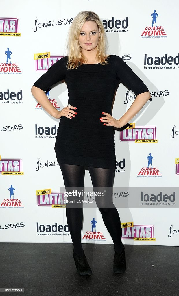Morgana Robinson attends the Loaded LAFTA's at Sway on March 7, 2013 in London, England.