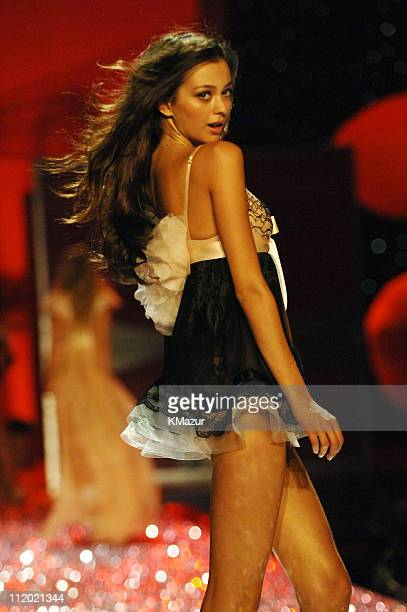 Morgane Dubled during 10th Victoria's Secret Fashion Show Runway at The New York State Armory in New York City New York United States