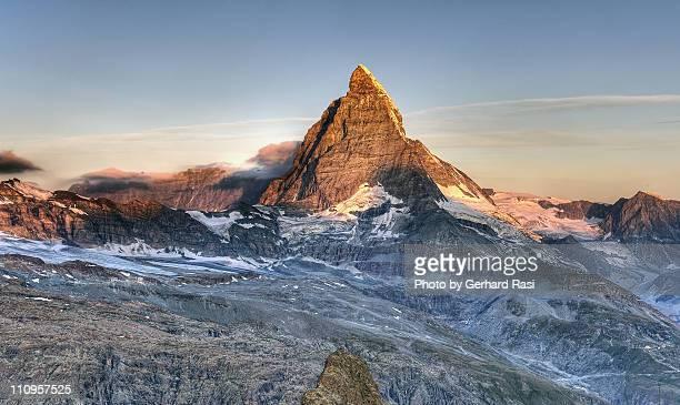 Morgensonne am Matterhorn