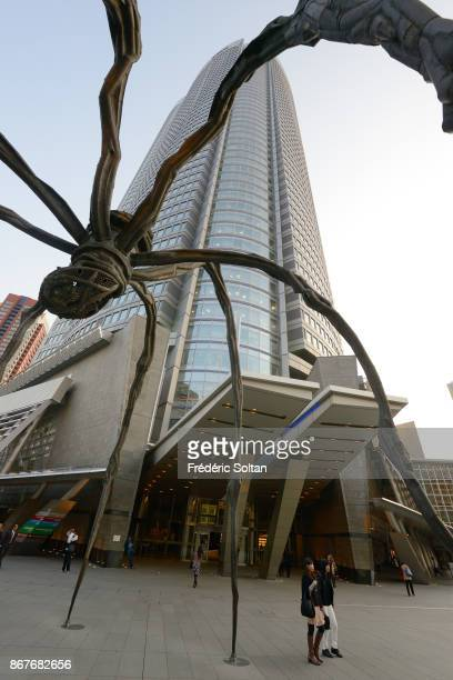 Mori Tower a 54storey mixeduse skyscraper located in Roppongi Minato on March 20 2015 in Tokyo Japan