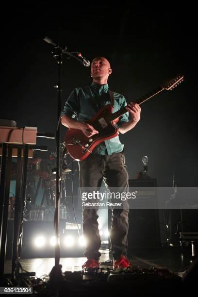 Moritz Bossmann of Kaeptn Peng und die Tentakel von Delphi performs at Columbiahalle on May 21 2017 in Berlin Germany
