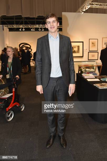 Moritz Feller attends the IFPDA Fine Art Print Fair Opening Preview at The Jacob K Javits Convention Center on October 25 2017 in New York City