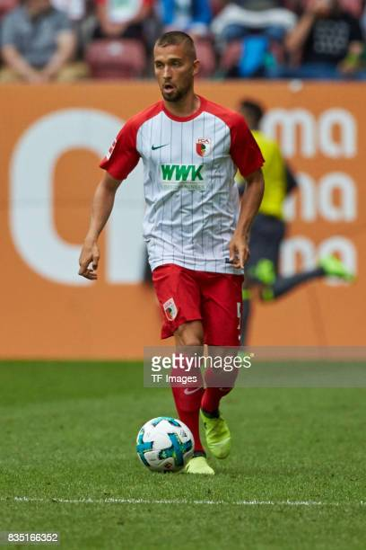 Moritz Leitner of Augsburg controls the ball during the preseason friendly match between FC Augsburg and PSV Eindhoven on August 6 2017 in Augsburg...