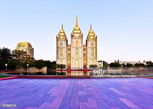 Mormon Temple, Salt Lake City, Ut