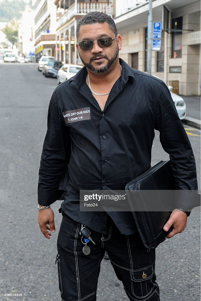 Morne Nurse outside the Western Cape High Court during sentencing of the woman who kidnapped his child, Zephany in 1997 on May 30, 2016 in Cape Town, South Africa. During the trial, the prosecution revealed that it would call Zephany to testify against the woman who raised her as her own for 18 years.