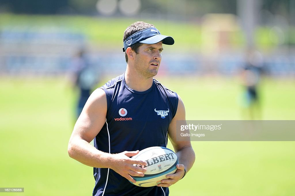 Morne Steyn during a Vodacom Bulls training session at Loftus Versveld on February 19, 2013 in Pretoria, South Africa.