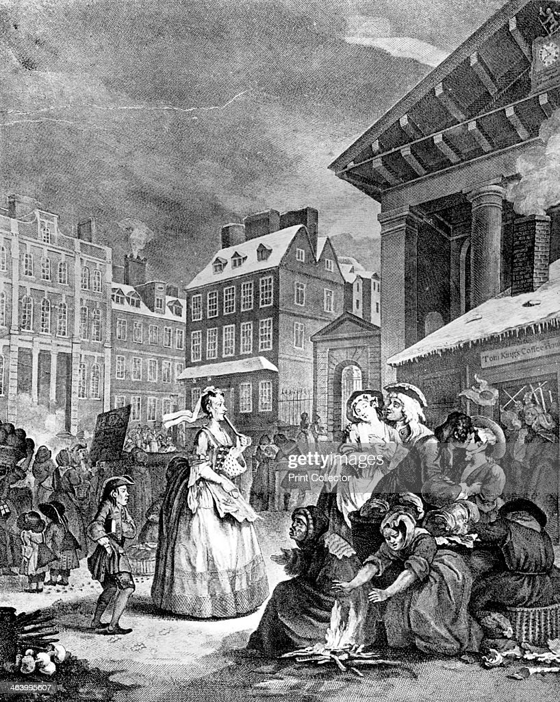 morning four times of the day u0027 1738 artist william hogarth