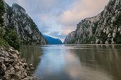 Morning at Danube Gorge