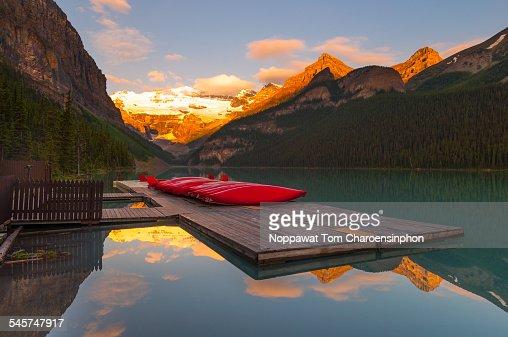 Morning at Lake Louise