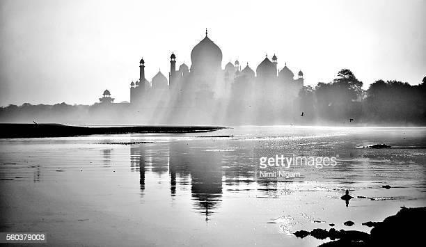 Morning at Taj Mahal