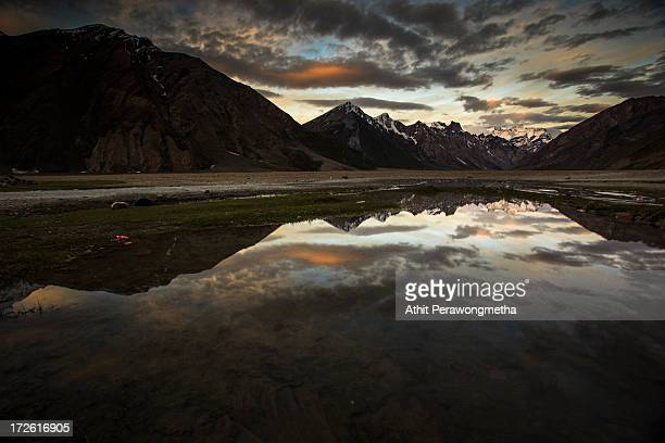 Morning at Zanskar, Leh Ladakh.