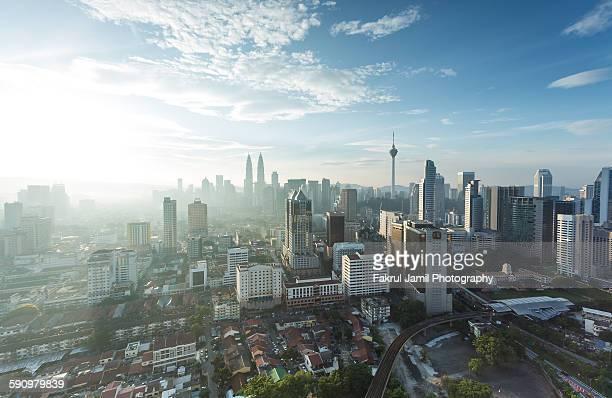 Morning Breeze in Kuala Lumpur city centre