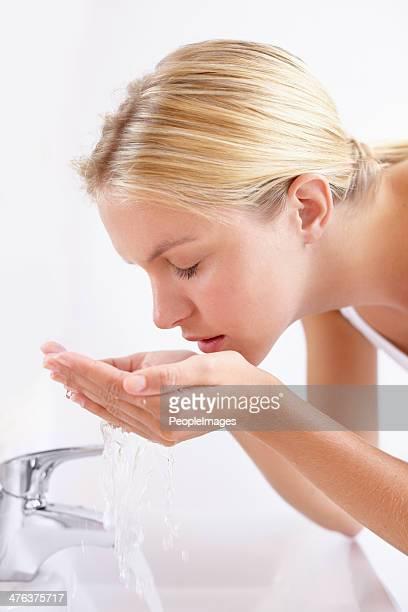 Morning cleansing ritual