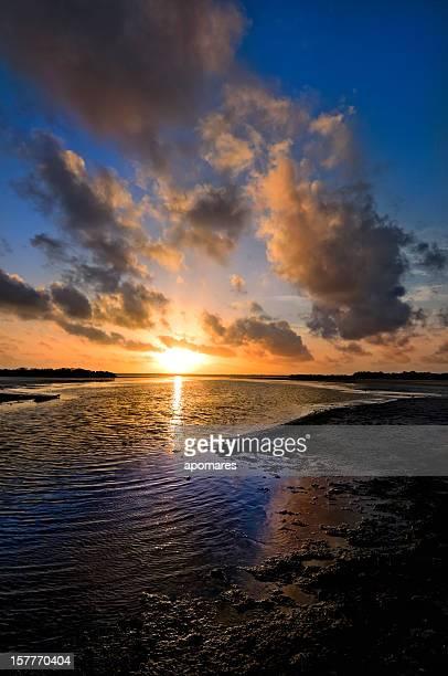 Manhã Cloudscapes-Céu dramático