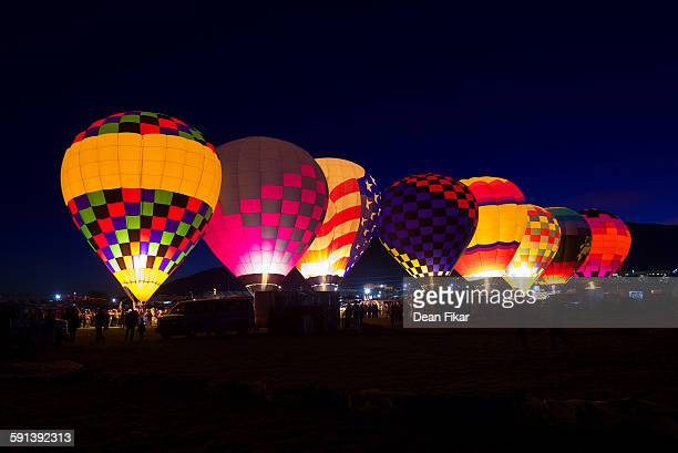 Morning Glow Event at the Albuquerque Balloon Fie