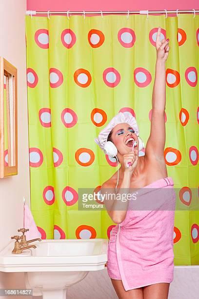 Bonne humeur le matin à chanter en bathroom_Humour