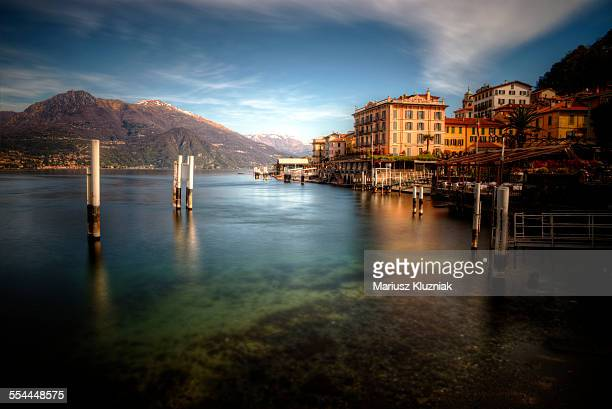 Morning light at Bellagio looking towards Menaggio