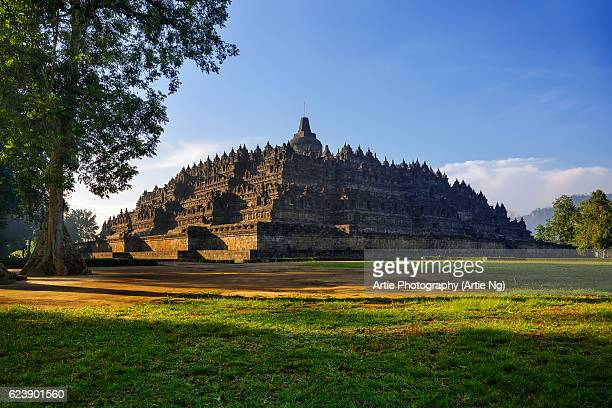Morning Light at Borobudur, Magelang, Central Java, Indonesia
