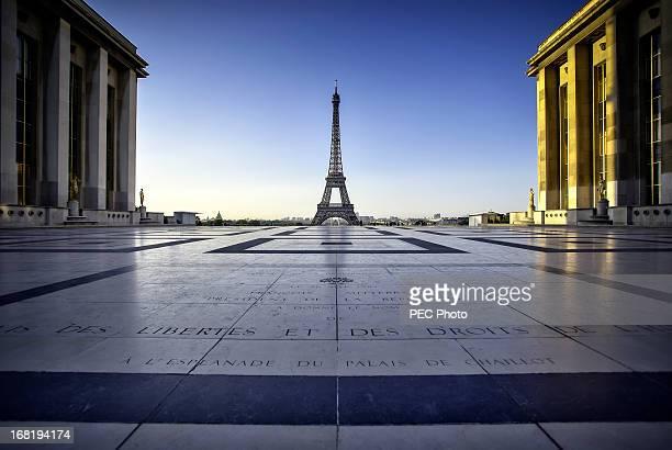 Morning light of Paris