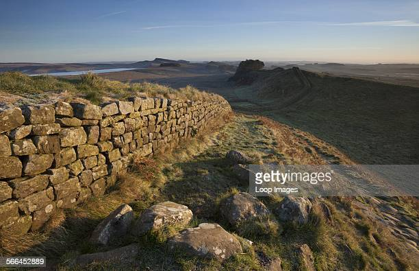 Morning light on Hadrian's Wall