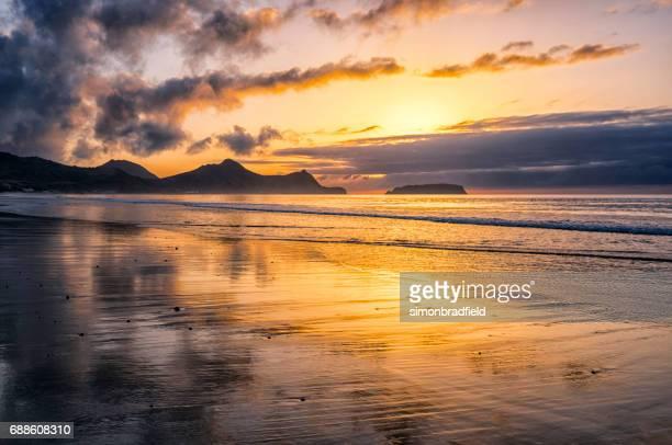 Morning Light On the Beach At Porto Santo