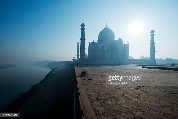 Morning light on the Taj Mahal, Agra, Uttar Pradesh, India