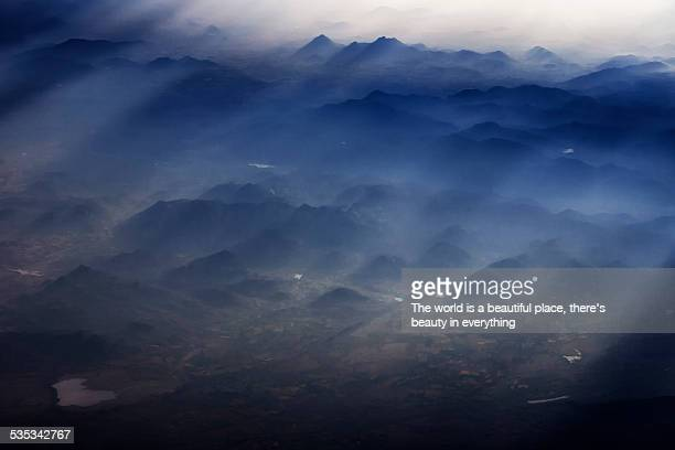 Morning lights over western Ghats