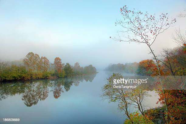 Morning Mist on the James River in Virginia