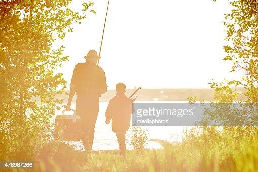 Morning of fishermen