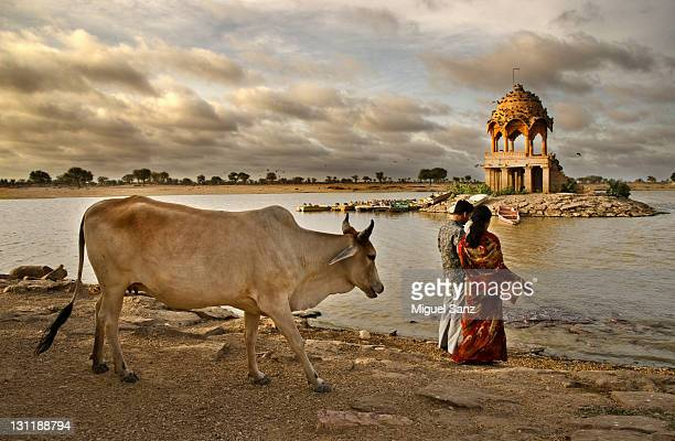 Morning on Gadi Sagar