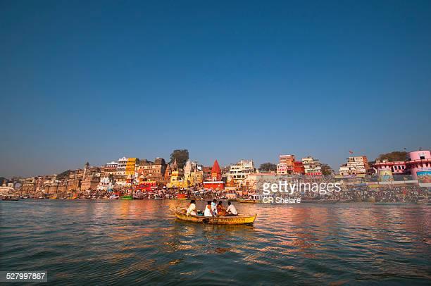 Morning on Gangas , Varanasi, Uttar Pradesh, India