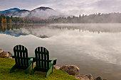 Morning on Mirror lake
